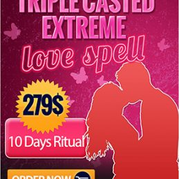 Extreme love spell triple casted