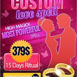 Custom tailored love spell most powerful love spell